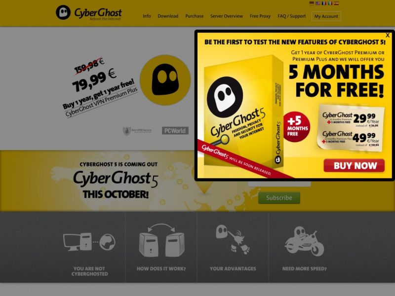 Cyberghost VPN Review | Best VPN Providers